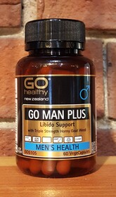 Go Man Plus 60 save $13.50